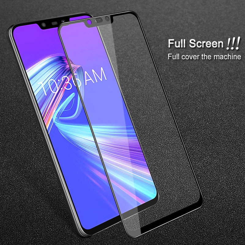 IMAK Full Screen for Asus Zenfone Max M2 ZB633KL Tempered Glass Asus Max (M2) Screen Protector for Asus ZenFone ZB633KL ZB 633KL
