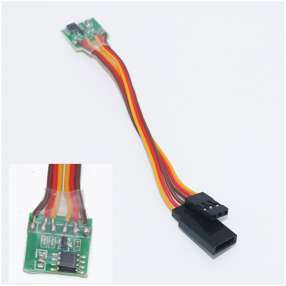 1pcs New Rc Servo Signal Reverser Rotation For Jr Futaba Aeroplane V Pulser Tester Testing Servos Pwm Tail In Parts Accessories From Toys Hobbies On Alibaba Group