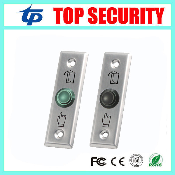 Door Exit Button Release Push Switch For Access Control Systemc Electronic Door Lock NO/NC/COM Lock Sensor Switch Access Push lpsecurity stainless steel door access control led backlit led illuminated push button door lock release exit button switch
