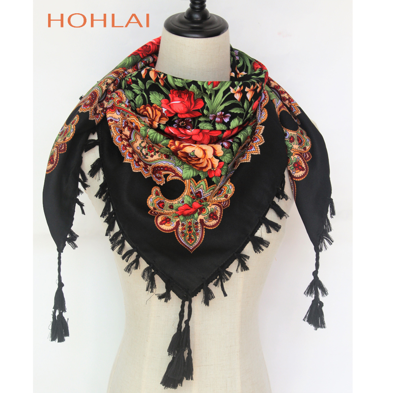 Hot Sale New Fashion Russian Ethnic Style Tassel Ladies Flor