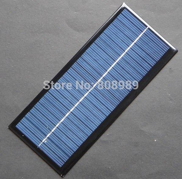 BUHESHUI 2.5W 12V Solar Cell Solar Module Polycrystalline Solar Panel DIY Solar Charger 213*92*3MM 2Pcs/lot FreeShipping