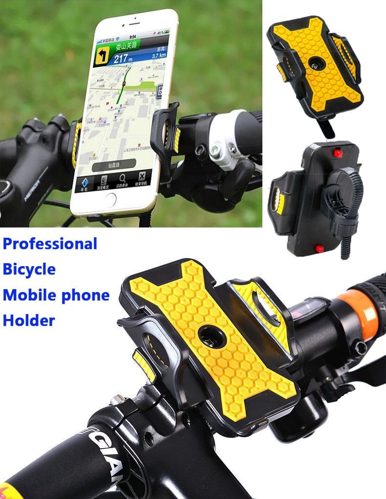 Universal Bike Bicycle Handlebar Stand Mount Holder For Mobile Cell Phone GPS