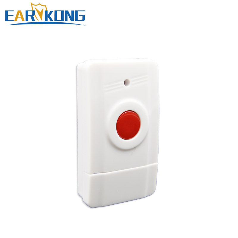 Wireless Panic Button 433MHz Emergency Button SOS For Home Burglar GSM Alarm System 1 Pcs