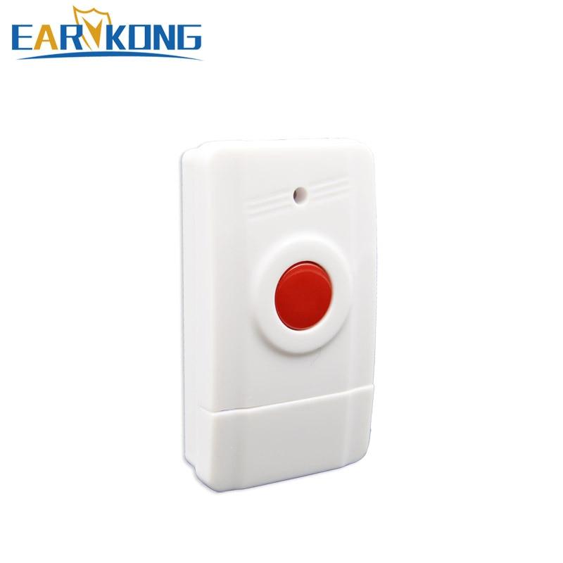 Wireless Panic Button 433MHz Emergency Button SOS For Home Burglar GSM Alarm System 1 Pcs