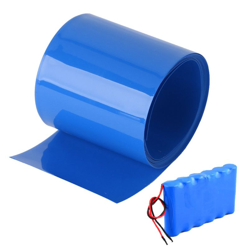 Lithium Battery Heat Shrink Tube Li-ion Wrap Skin 14500 18650 26650 PVC Shrinkable Tubing Film Tape Sleeves Electrical Insulatio