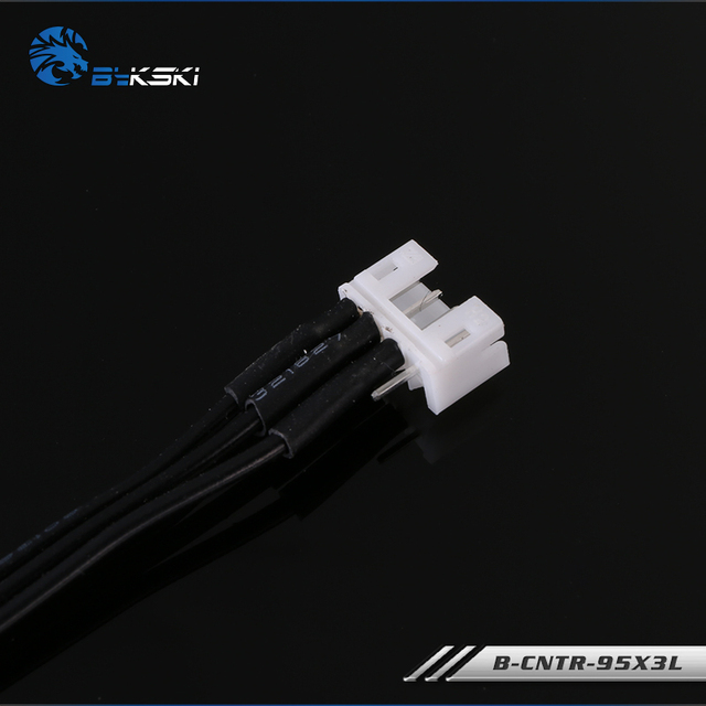 Bykski B-CNTR-95X3L, câbles dextension synchrones Asus Aura, pour en-tête RGB 5v 3Pin, uniquement pour le système déclairage RBW de Bykski