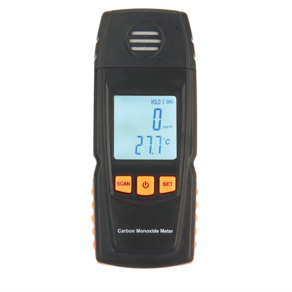 ФОТО 1 Pc Handheld Carbon Monoxide CO Monitor Detector Meter Tester 0-1000ppm GM8805 Brand New