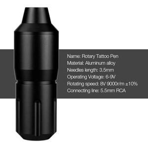 Image 3 - Stylo de tatouage rotatif RCA tatouage mitrailleuse Shader Liner moteur électrique cartouche de tatouage aiguilles maquillage Permanent pour tatoueur