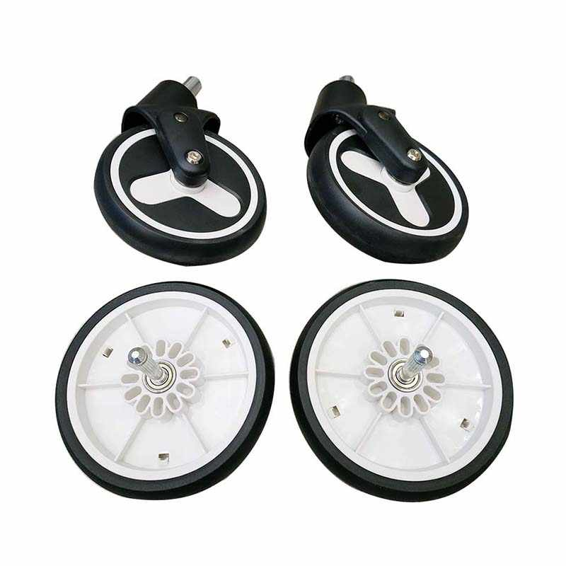 YOYA PLUS 3 Baby cart wheels Original stroller accessories Front and back wheels For Baby trolley Suitable for Yoya plus 2/3/4