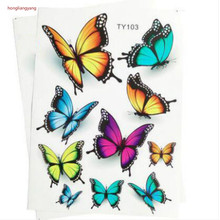 diy SUV sedan Hatchback universal pvc FLOWER Butterfly style car stickers waterproof sticker for whole body
