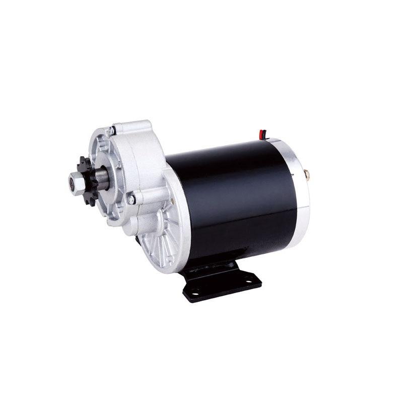 My1020z 450w 24v 36v dc gear brushed motor e bike motor for 24v brushed dc motor