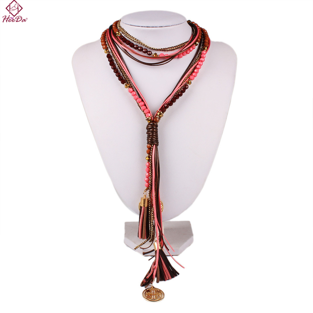 Boho Women Long Necklace...