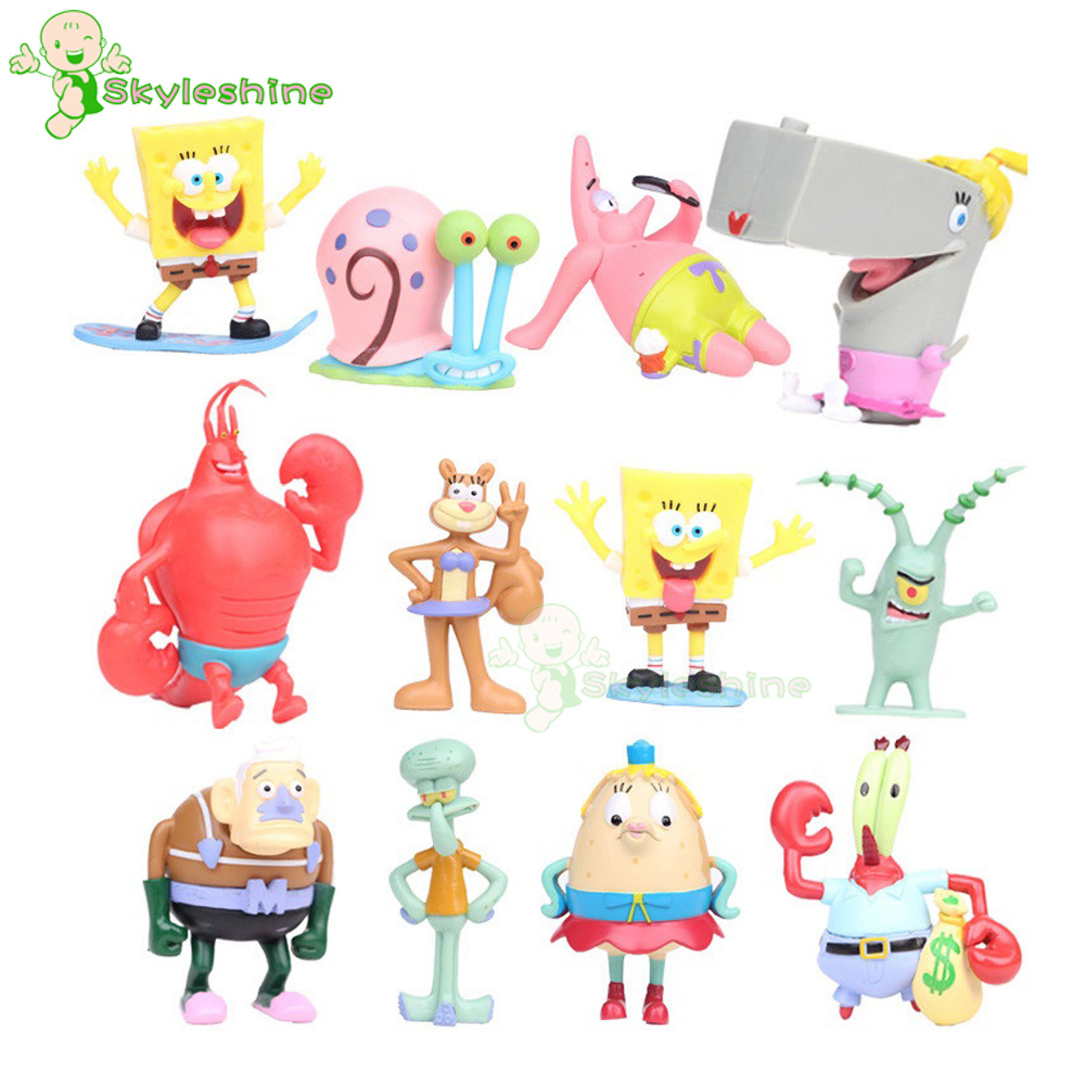 Buy 12pcs spongebob and get free shipping on AliExpress.com