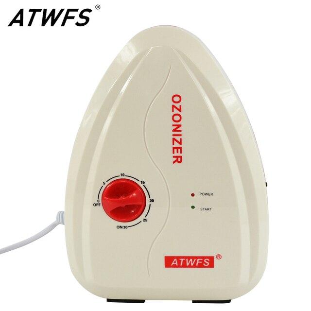 Atwfs multifuctional 400 mg/h gerador de ozônio água ozônio frutas e legumes máquina lavar água esterilizador ar ozonizador