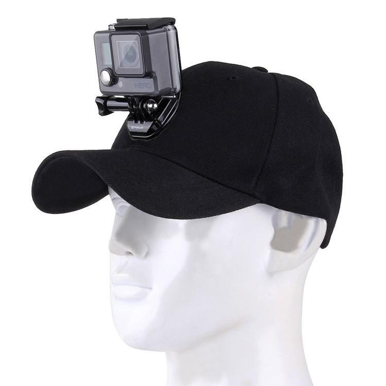 For Go Pro Accessories Canvas Baseball Hat Cap W/ J-Hook Buckle Mount Screw For GoPro HERO 7/6/5/4 Session HERO Action Camera