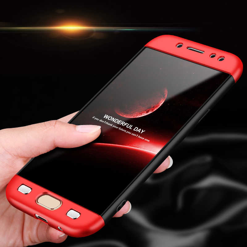 360 Degree Full Protection Shockproof Hard Matte Case for Samsung Galaxy J3 J5  J7 2017 J330 0de22aff3a0
