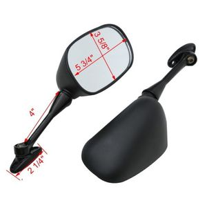 Image 2 - Motorcycle Rear View Side Mirrors For Honda CBR1000RR 2004 2007 CBR600RR 2003 2014 2005