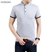 4740f19bb1bdb 2018 chegada nova verão estilo homens boutique Camisas Polo curtas masculino  100% algodão gola silm