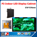 P3 Led Display screen module RGB Full color message video led panel 160X160mm with receiving card 576*576mm led display cabinet