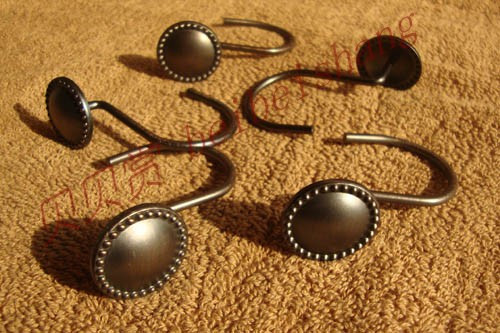 12pcs/set European Bronze Color Zinc Alloy Metal Shower Curtain ...