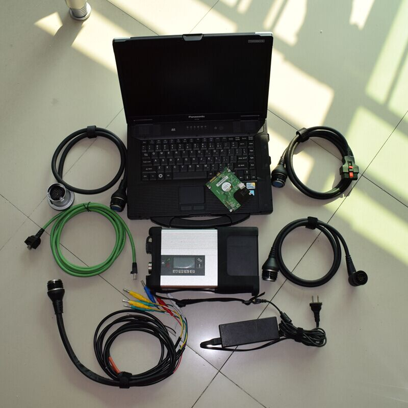 mb diagnostic interface star c5 with software 2018.05 hdd 240gb with laptop cf52 full set ready to use best quality