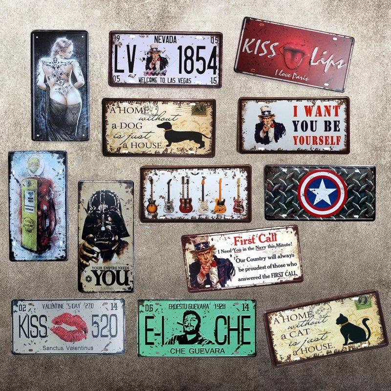 Online shop 1 pcs volk t2 bus germany license plates vintage art funny style art license car plate tin sign mural poster bar pub club cafe shop store solutioingenieria Images