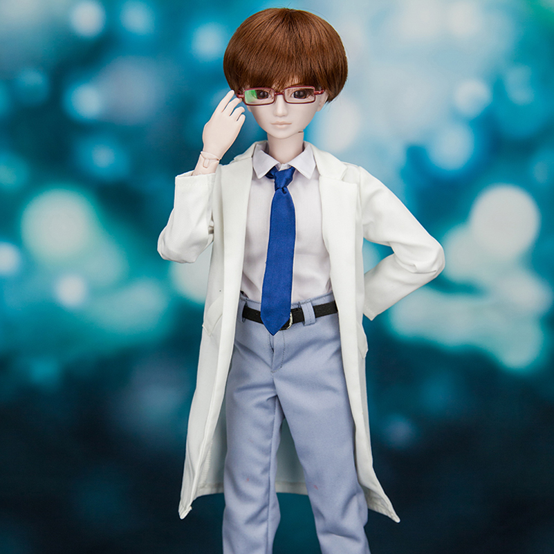 BJD Doll 1/3 60cm Handsome SD Doll Boy Body With Wig Clothes & Shoes High Quality Resin Reborn Makeup Doll Toys For Kid