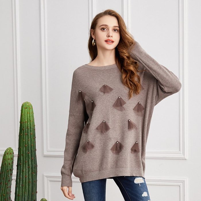 Женский свитер Marwin, мягкий эластичный Повседневный свитер на осень и зиму, 2019