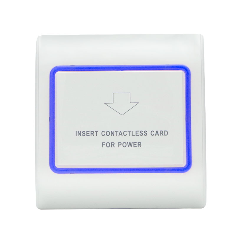 Nice Rfid 13.56mhz Mifare S50 Card Switch 180~250v 30a 15s Delay Room Number And Check In Time Limit Function Hotel Card Switch Quality First Security & Protection Access Control