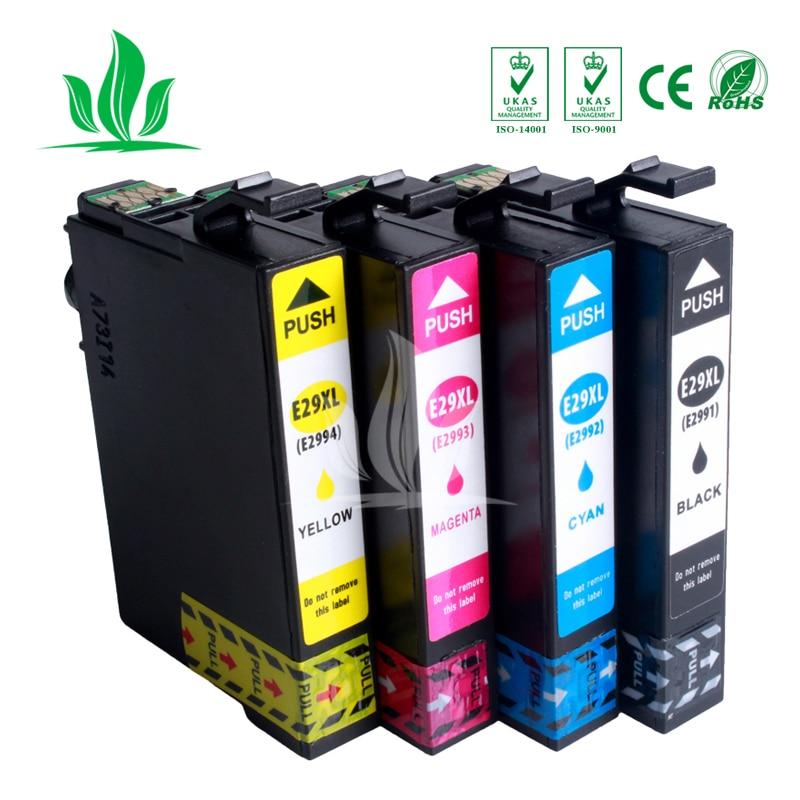 4 pcs T2991 T2992 T2993 T2994 29XL ink cartridge