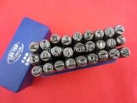 2013 Hot Sale 1 8 3 MM Capital Letter A Z Punch Stamp Set 27 Piece