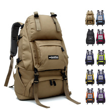 Nylon waterproof unisex men backpack travel pack sport bag pack Outdoor Mountaineering Hiking Climbing Camping backpack for male
