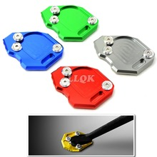 Motorcycle Kickstand Side Stand Extension Foot Pad Plate SIDE STAND ENLARGER For BMW F800GS F 800GS F800 GS