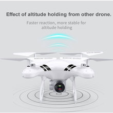 lensoul RC Drone Wifi FPV HD Adjustable Camera 0.3MP/5MP 480P/1080P Altitude Hold One Key Return Headless Quadcopter 3color
