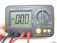 Aidetek точность миллиомметры VS extech 4 провода Кельвина Клип 0 отрегулировать большой ЖК дисплей