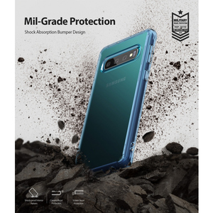 Image 5 - Fusion Ringke pour Galaxy S10 étui en Silicone souple en polyuréthane et coque arrière rigide transparente hybride