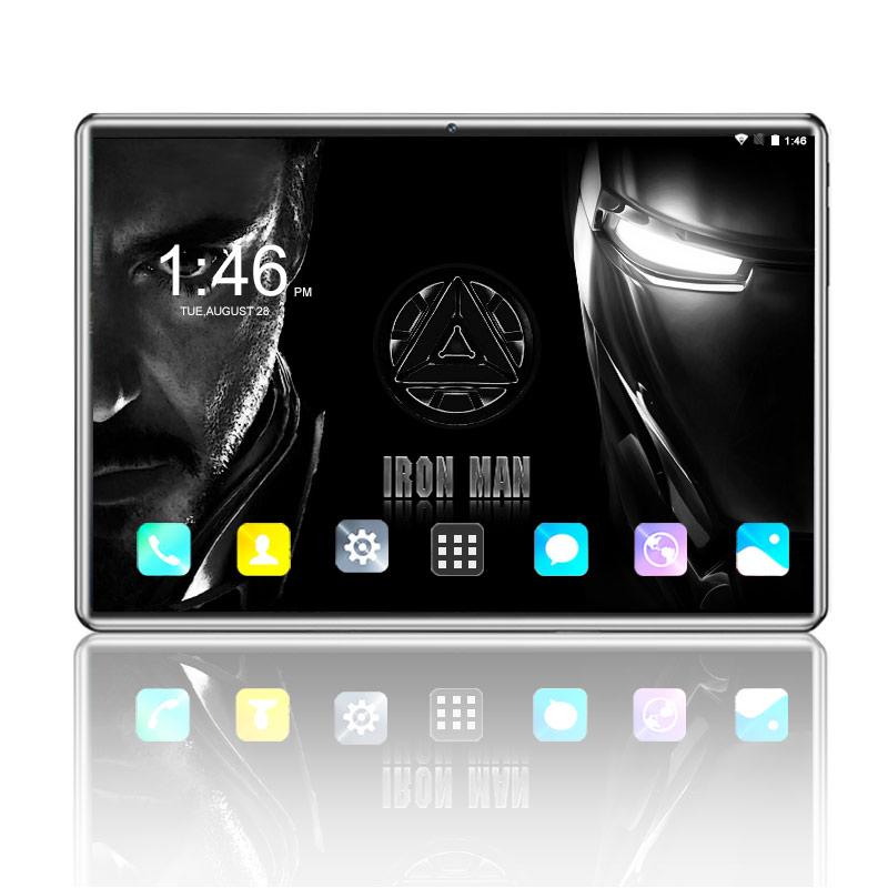 2019 New 10.1' The Tablets Android 8.0 Octa Core 6GB+64GB ROM Dual Camera 8MP SIM Tablet PC Wifi Mirco Usb GPS Bluetooth Phone