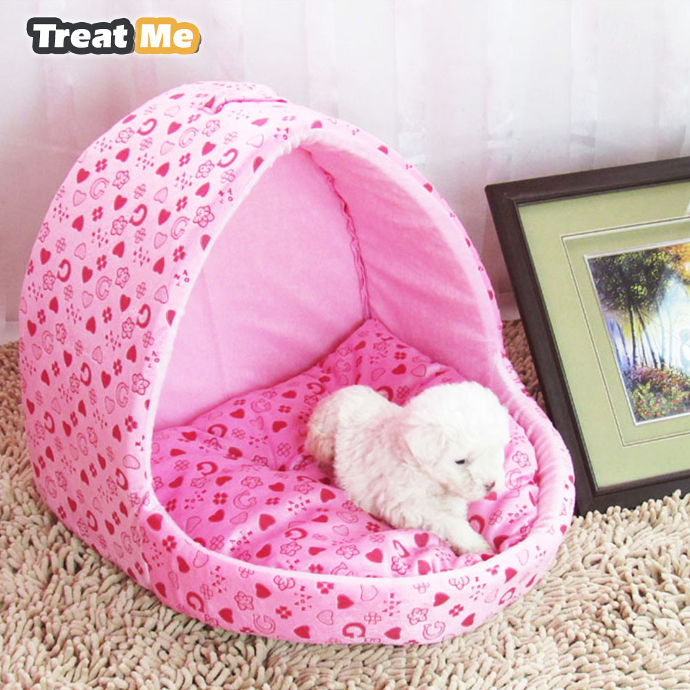 Princess Dog Bed Four Seasons Available Pet Sofa Basket