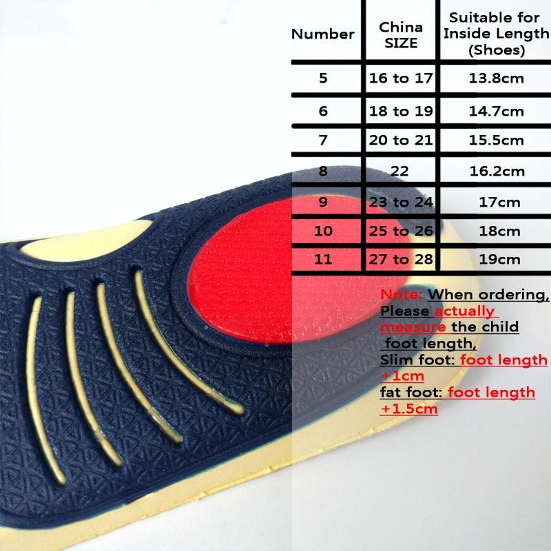 Mr.Niscar EVA Gel Anak Orthotic Insole Anak Arch Dukungan Sepatu - Aksesoris sepatu - Foto 4