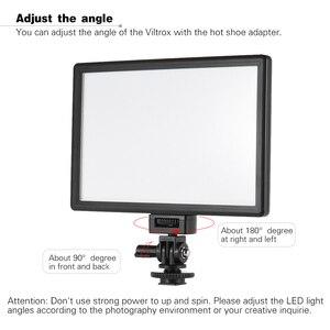 Image 4 - Viltrox L116T Foto Studio Licht Fotografie Verlichting Led Video Licht Camera Video Light Voor Canon Nikon Camera Dv Camcorder