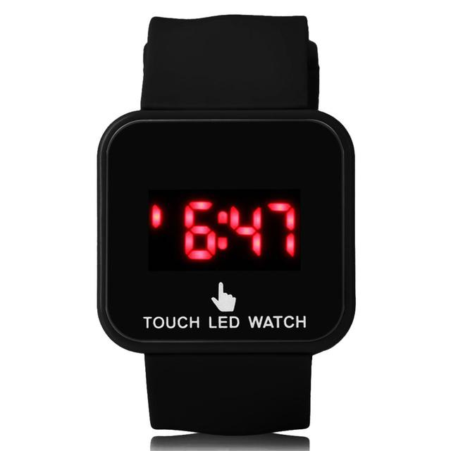 Unisex LED Touch Screen Watch Kids' Watch Students' Electronic Watch