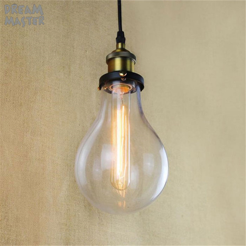 New Vintage Country Style Glass Shade Pendant Light for home Suspension Hanging Lamp Dining Room Indoor Lighting fixture brass cone shade pendant light edison bulb led vintage copper shade lighting fixture brass pendant lamp d240mm diameter ceiling