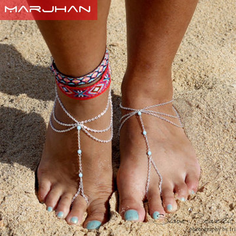 Boho Fashion Women Ankle Bracelet Beach Barefoot