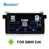 EU warehouse 1 Din Android Car DVD Player for BMW E46 M3 With GPS Bluetooth Radio RDS USB Steering wheel Canbus Free Map+Camera