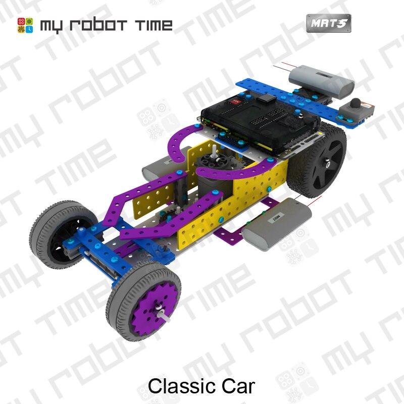 My Robot Time Mrt5 1 Aluminum Block Different With Lego Robotics Diy