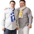 Nueva Llegada! 2016 Garra de Oso y de La Pata Precioso hombres Bufandas Calientes Del Invierno Suave Envuelve Lindo Oso Oso Pañuelo Diseñado Para Gay parejas