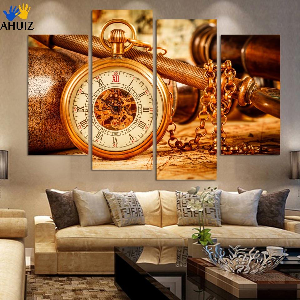 Vintage Wall Art For Living Room : Fashion vintage ancient large poster print original retro