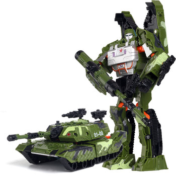 19cm Transformation Car Robot Toys Bumblebee Optimus Prime Megatron Decepticons Jazz Collection Action Figure Gift For Kids - H