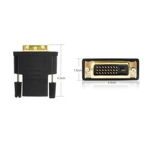 Image 5 - AMKLE 24 + 1 دبوس DVI محول hdmi مطلية بالذهب HDMI/F إلى DVI/M محول الفيديو 1080P ل PS3 العارض HDTV