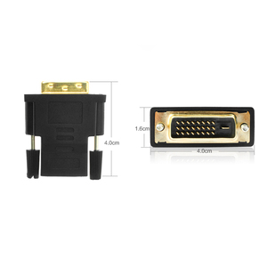Image 5 - AMKLE  24+1 Pin DVI HDMI Adapter Gold Plated HDMI/F to DVI/M Video Converter 1080P for PS3 Projector HDTV